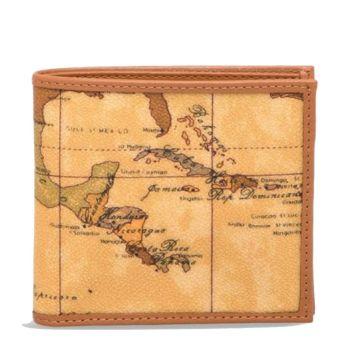 Мужской бумажник - маленький, с кошельком для монет 1A Classe Alviero Martini линия Geo Classic W103