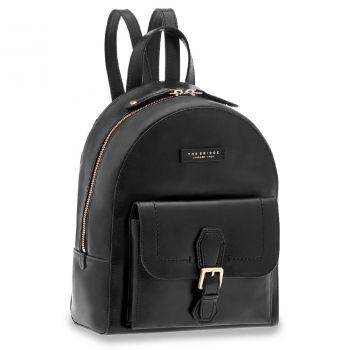 THE BRIDGE Giovanna Line – Black Leather Backpack