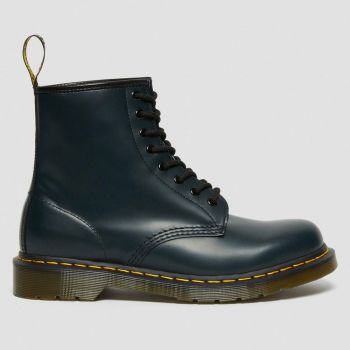 DR. MARTENS 1460 Line – Blue Navy Leather Lace Up Boots