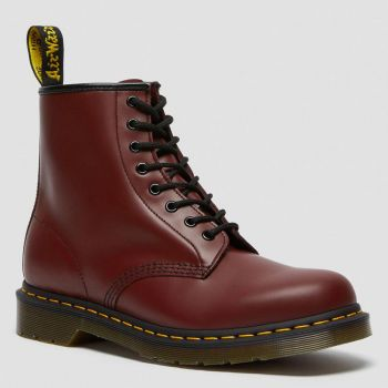 DR. MARTENS 1460 Line – Cherry Red Leather Boots