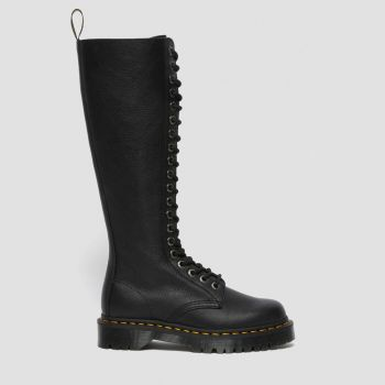 DR. MARTENS 1B60 Bex Line – Black Leather High Boots for Women