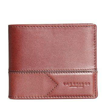 THE BRIDGE Giannutri Line – Brown Leather Card Holder for Men