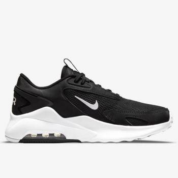 NIKE Air Max Bolt Line – Black White Fabric Sneakers