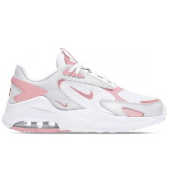 NIKE Air Max Bolt Line – White Pink Fabric Sneakers
