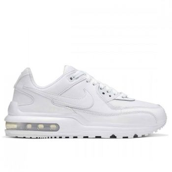 NIKE Air Max Wright Line – White Leather Sneakers for Kids