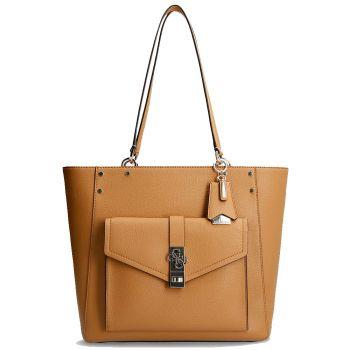 GUESS Albury Line – Caramel Shoulder Bag