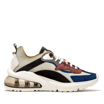 D.A.T.E. Aura Silk Line – Pearl Sneakers