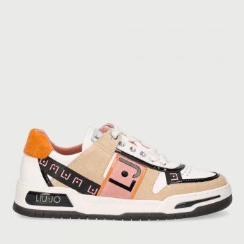 LIU JO Multicolor Suede Sneakers