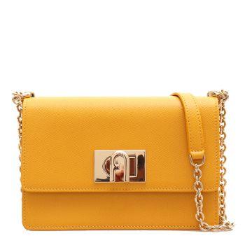 Furla 1927 Line –  Ochre Leather Shoulder Bag