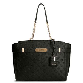 GUESS Bea Line – Black Shoulder Bag