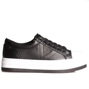 GUESS Brodey Line – White Black Sneakers For Women