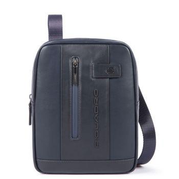 """Организованная сумка Piquadro из синей кожи для iPad® 10,5 """"/ iPad 9,7"""" - CA1816UB00 линия Urban"""