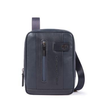 Сумка через плечо Piquadro из синей кожи с держателем для iPad®mini - CA3084UB00 линия Urban