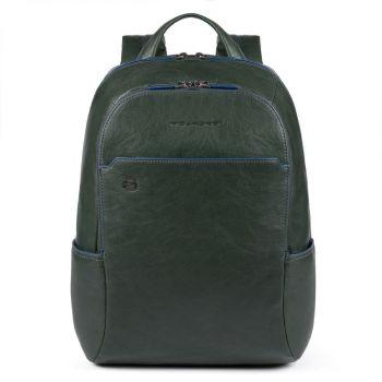 """Рюкзак для IPAD®AIR-IPAD PRO 9.7 / IPAD 11 """"- PIQUADRO линия B2s в зеленой коже CA3214B2S"""