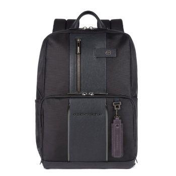"""Рюкзак PIQUADRO для ноутбука 14 """"- линия Brief 2, ткань черного цвета CA3214BRL"""