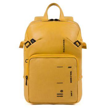 Рюкзак PIQUADRO линия Kyoto из желтой кожи CA4923S106