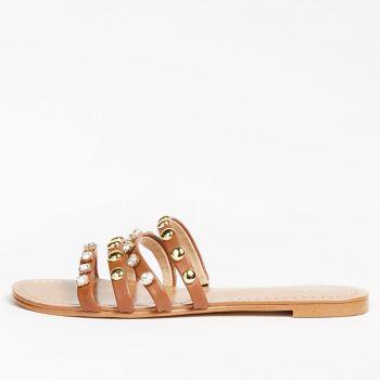 GUESS Cevan Line – Cognac Sandals