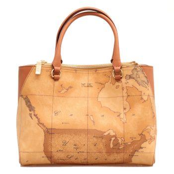 Женская сумка с двумя карманами, с плечевым ремнем 1A Classe Alviero Martini линия Geo Classic E012