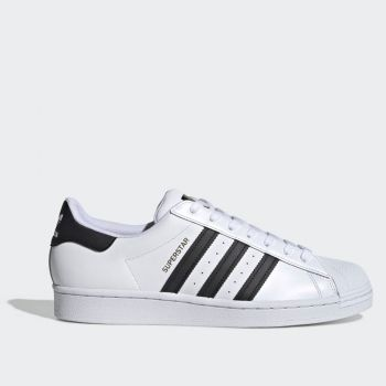 ADIDAS Superstar Line – Black and White Leather Sneakers