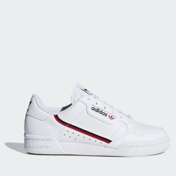 ADIDAS Continental 80 Line – White Blue Navy Red Leather Sneakers for Women