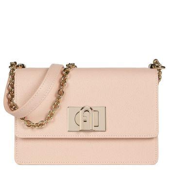 FURLA 1927 Line – Candy Rose Leather Cross-Body Bag