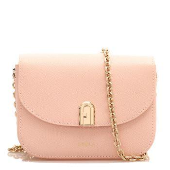 Furla 1927 Line –  Mini Candy Rose Leather Shoulder Bag