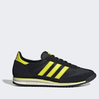 ADIDAS SL 72 Line – Black Yellow and White Sneakers