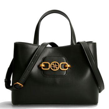 GUESS Hensely Line – Black Handle Bag for Women VB8113070