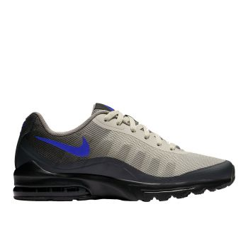 NIKE Air Max Invigor Line – Black Blue Mesh Fabric Sneakers