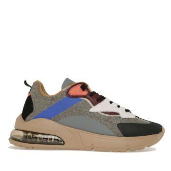 D.A.T.E. Aura Aukland Line – Gray Fabric Sneakers