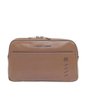 Поясная сумка PIQUADRO из коричневой кожи линия Nabucco CA5348S110