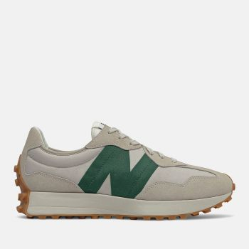 NEW BALANCE 327 Line – Timberwolf Nightwatch Green Suede Nylon Sneakers for Him