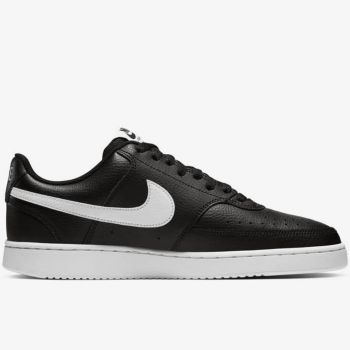 NIKE Court Vision Line – Low Black Sneakers