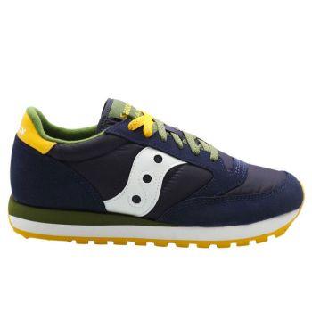 Saucony Jazz Original Line – Navy Pesto Suede Fabric Sneakers for Him