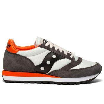 SAUCONY Jazz 81 Line – Tan Black Suede Sneakers for Him