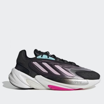ADIDAS Ozelia W Line – Black Pink White Leather Sneakers for Women