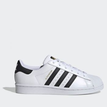 ADIDAS Superstar W Line – Black White Leather Sneakers for Women