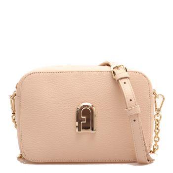 Furla 1927 Sleek –  Mini Ballerina Leather Shoulder Bag