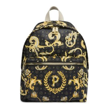 POLLINI Heritage Queen For A Day Line – Black Backpack TE8412