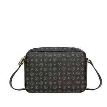 POLLINI Heritage Line – Black Crossbody Bag TE8414PP03Q1100A