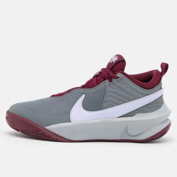 NIKE Team Hustle D 10 Line – Grey Violet Sneakers