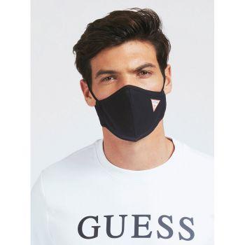 GUESS Unisex Jet Black Mask