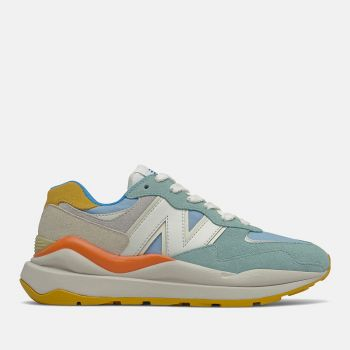 NEW BALANCE 5740 Line – Oyster Pink Blue Chill Suede Mesh Sneakers for Her