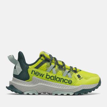 NEW BALANCE Shando Line – Sulphur Yellow Trek Mesh Fabric Sneakers for Her