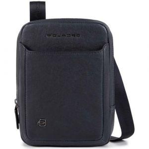 Сумка через плечо Piquadro из синей кожи с держателем для iPad®mini - CA3084B3