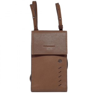 Держатель для телефона PIQUADRO AC5442S110 линия Nabucco в коричневой коже