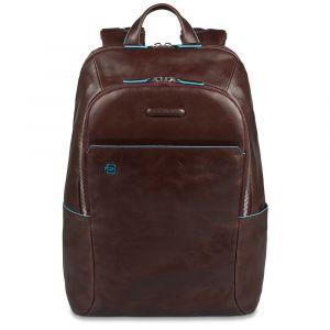 Рюкзак PIQUADRO для ноутбука, 14 дюймов, кожа красного дерева, линия Blue Square CA3214B2
