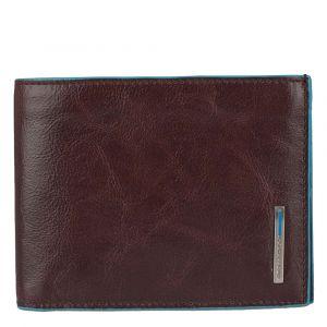 Мужской бумажник с портмоне Piquadro из кожи красного дерева - PU257B2 линия Blue Square