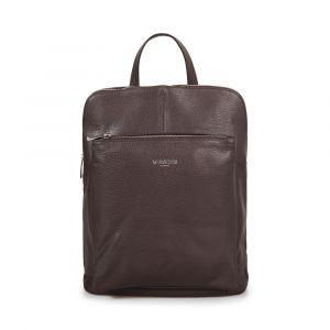 Женский рюкзак из темно-коричневой кожи VIA VERDI. Made in Italy