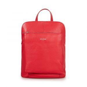 Женский рюкзак из красной кожи VIA VERDI. Made in Italy